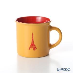Nothing as Paris ミニマグカップ(オレンジ/赤/赤) アウトドア キャンプ|le-noble