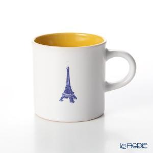 Nothing as Paris ミニマグカップ(白/黄/青) アウトドア キャンプ|le-noble