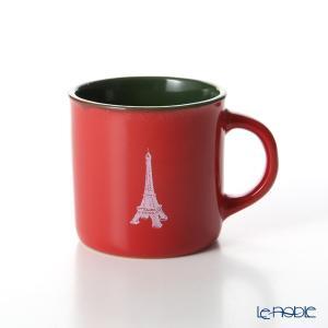 Nothing as Paris ミニマグカップ(赤/緑/白) アウトドア キャンプ|le-noble