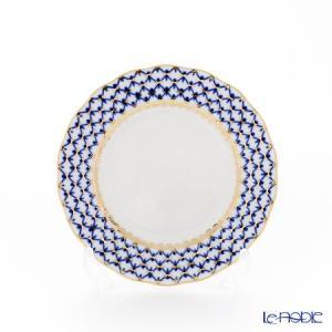 ロシア食器 インペリアル・ポーセリン コバルトネット プレート 15cm 皿|le-noble