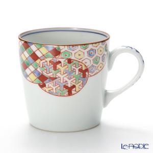 京焼・清水焼 マグカップ M0768 彩色雲小紋 敬老の日|le-noble