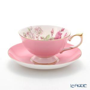 エインズレイ エリザベスローズ #3056 ティーカップ&ソーサー(アセンズ) ピンク 200ml アフタヌーンティー|le-noble