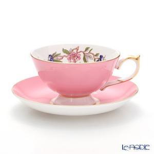 エインズレイ ペンブロック #2901 ティーカップ&ソーサー(アセンズ) ピンク 200ml アフタヌーンティー|le-noble