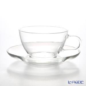 ハリオ 耐熱ティーカップ&ソーサー TCSN-1T|le-noble
