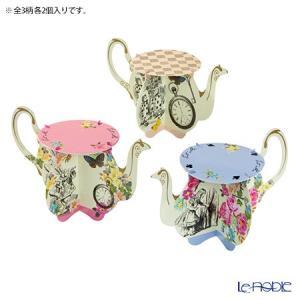 アリスの物語のアイコンの1つ「ティーポット」の形をしたカップケーキ用のスタンド♪ トーキングテーブル...