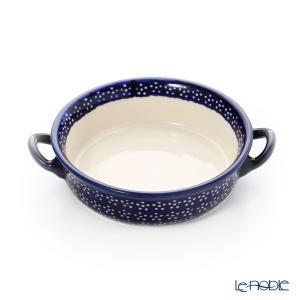 ポーリッシュポタリー(ポーランド陶器) ボレスワヴィエツ グラタン皿 18.8cm/H4.6cm 1454/226A 皿|le-noble