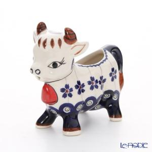 ポーリッシュポタリー(ポーランド陶器) ボレスワヴィエツ クリーマー(ウシ) 75ml 1885/166A|le-noble