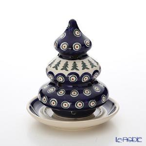 ポーリッシュポタリー(ポーランド陶器) ボレスワヴィエツ クリスマスツリー 14.6cm 1285/200|le-noble