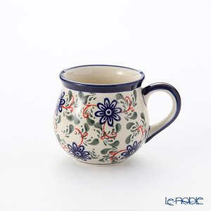 ポーリッシュポタリー(ポーランド陶器) ボレスワヴィエツ マグ 220ml/8cm 1452/1197A|le-noble