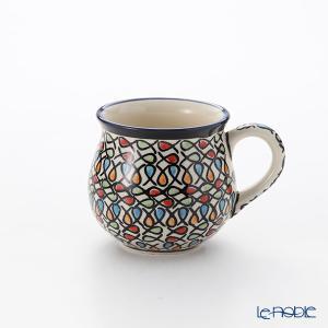 ポーリッシュポタリー(ポーランド陶器) ボレスワヴィエツ マグ 220ml/8cm 1452/DU221|le-noble