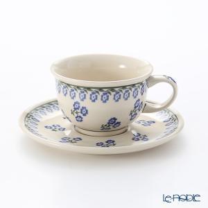 ポーリッシュポタリー(ポーランド陶器) ボレスワヴィエツ ティーカップ&ソーサー 220ml/16cm 775/836/1171 アフタヌーンティー|le-noble