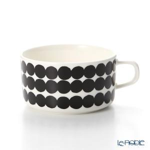 マリメッコ(marimekko) Siirtolapuutarha シイルトラプータルハ/市民菜園 ティーカップ 250ml(ブラック)|le-noble