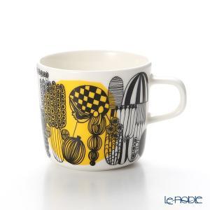 マリメッコ(marimekko) Siirtolapuutarha シイルトラプータルハ/市民菜園 コーヒーカップ 200ml(イエロー) H7cm|le-noble