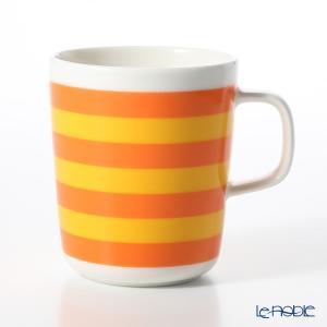 マリメッコ(marimekko) Tasaraita タサライタ/横縞 18SS マグカップ オレンジ×イエロー 250ml|le-noble