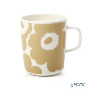 マリメッコ(marimekko) Unikko ウニッコ マグカップ 250ml ホワイト×ベージュ 070401-180/20SS|le-noble