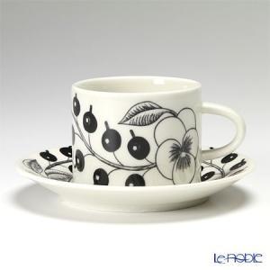 アラビア(ARABIA) パラティッシ ブラック コーヒーカップ&ソーサー 180cc 北欧|le-noble
