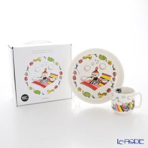 アラビア(ARABIA) ムーミン コレクション チルドレンセット(チビのミィ) 【プレート&マグ2点セット】 北欧|le-noble