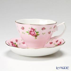 ロイヤル・アルバート ニューカントリーローズ(ピンク) ヴィンテージ ティーカップ&ソーサー アフタヌーンティー|le-noble