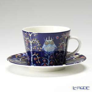 イッタラ(iittala) タイカ ブルー コーヒーカップ&ソーサー 200cc 北欧|le-noble