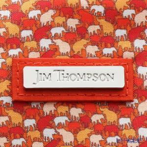 ジムトンプソン シャンハイポーチ 1136360B ドロップ レッド/オレンジ/ホワイト|le-noble|04
