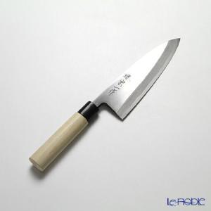 堺打刃物 堺宗一作 出刃包丁 18cm カスミ|le-noble