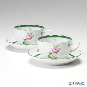 ヘレンド(Herend) ウィーンのバラ 00724-0-00/724 ティーカップ&ソーサー 200cc ペア アフタヌーンティー|le-noble