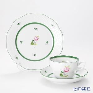 ヘレンド(Herend) ウィーンのバラ トリオセット(兼用)|le-noble