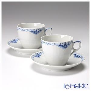 ロイヤルコペンハーゲン プリンセス ブルー コーヒーカップ&ソーサー 170cc ペア 1104071