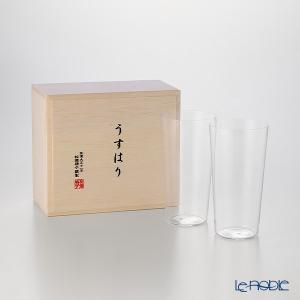 松徳硝子 うすはり タンブラー(L) ペア  グラス|le-noble
