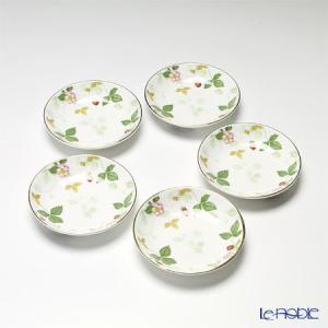 ウェッジウッド(Wedgwood) ワイルドストロベリー プチトレイ 5枚セット 皿|le-noble
