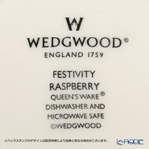 ウェッジウッド(Wedgwood) フェスティビティ マグ 300cc(ラズベリー) ペア|le-noble|04