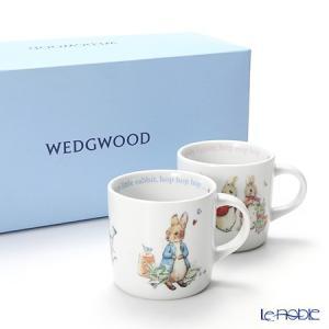 ウェッジウッド(Wedgwood) ピーターラビット マグ 210ml ペア(ボーイズ&ガールズ)|le-noble