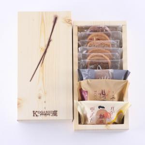 敬老の日 プレゼント お中元 ルピノ― 菓一座 焼き菓子 詰合せ ギフト 木目SS|le-pineau