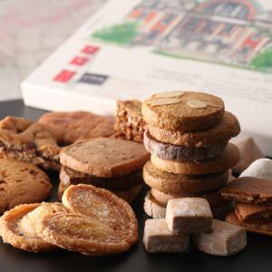 敬老の日 プレゼント お中元 ルピノ― 菓一座 クッキー 詰合せ ギフト 中ノ島公会堂|le-pineau
