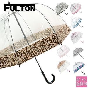 フルトン FULTON 傘 レディース 雨傘 長傘 バードゲ...