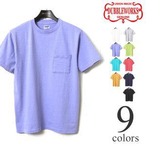 ダブルワークス ポケット付きTシャツ 無地 DUBBLEWORKS 34002|lea-rare