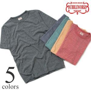 ダブルワークス DUBBLEWORKS 36003 カラーヘザーポケットTシャツ|lea-rare