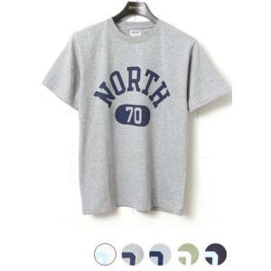 ダブルワークス DUBBLEWORKS 33005 プリントTシャツ [NORTH 70]|lea-rare