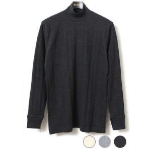 ジチピ Gicipi INTERLOCK VINTAGE インターロック ヴィンテージ モックネック ロングスリーブTシャツ 1603A|lea-rare