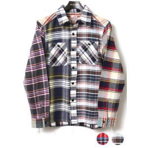 HOUSTON ヒューストン ネルシャツ ビエラワークシャツ クレイジー 40120CZ|lea-rare