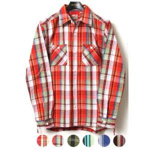 HOUSTON ヒューストン ネルシャツ ビエラワークシャツ 40223|lea-rare