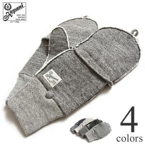 ケパニ 手袋 グローブ Saguaro-POP カットオフミトン Kepani スウェット KP5018MP レディース メンズ|lea-rare