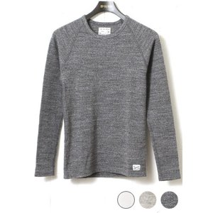 Kepani ケパニ ラフィーストレッチフライス クルーネック ロングスリーブTシャツ KP9902MS|lea-rare