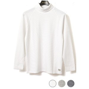 Kepani ケパニ ラフィーストレッチフライス タートルネック ロングスリーブTシャツ KP9903MS|lea-rare