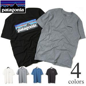 patagonia パタゴニア 半袖Tシャツ メンズ M's P-6 Logo Cotton T-Shirt 38906|lea-rare