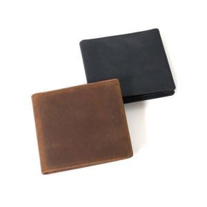 セトラー 財布 SETTLER COIN CASE WALLET ウォレット 二つ折り財布 OW1563 正規品 レザー 革 ホワイトハウスコックス 【ブラウン ブラック】|lea-rare