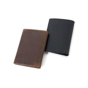 セトラー 財布 SETTLER COMPACT WALLET ウォレット 二つ折り財布 OW1565 正規品 レザー 革 ホワイトハウスコックス 【ブラウン ブラック】|lea-rare