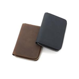 セトラー 財布 SETTLER ZIP AROUND COMPACT WALLET ラウンドジップ コンパクト ウォレット OW2534 正規品 ホワイトハウスコックス 【ブラウン ブラック】|lea-rare