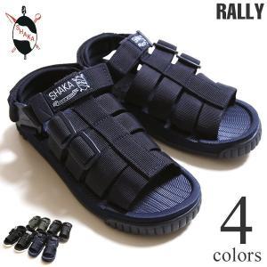 SHAKA シャカ サンダル RALLY ラリー レディース&メンズ|lea-rare