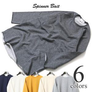スピナーベイト Spinner Bait ミニ裏毛 7分袖Tシャツ 101MU|lea-rare